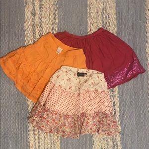 Girls 2-3T Bundle of Toddler Skirts M2